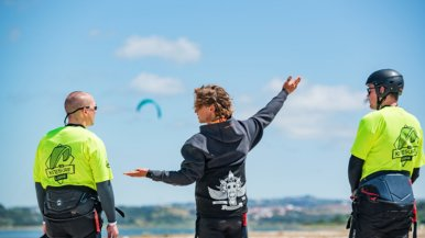 Stage: kitesurfen in Portugal