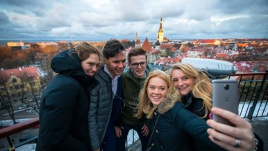 Studiereis Tallinn met studenten marketing