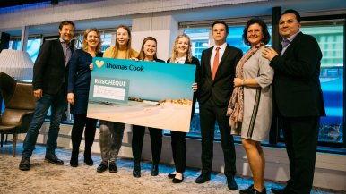 Students present Thomas Cook with loads of ideas during Bootcamp