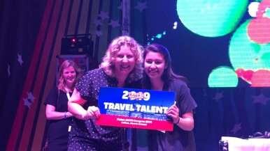 Tio-studente is Travel Talent 2019