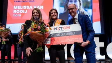 Tio-studente Melissa wint The NXT GM Challenge 2020