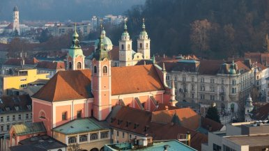 Organising and going on a trip to Slovenia